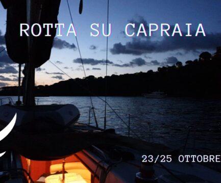 Ottobre 2020: Rotta su Capraia